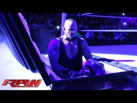 Xxx Mp4 Undertaker Rises From A Coffin To Attack Brock Lesnar Raw March 24 2014 3gp Sex