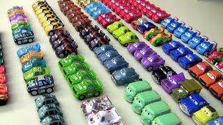 Complete 52 Micro Drifters Collection NEW Cars 2 Disney Pixar Entire Display Checklist car-toys