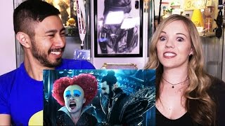 Alice Through The Looking Glass Super Bowl Teaser Reaction!