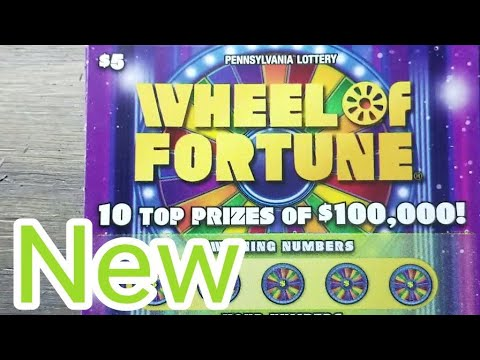 Xxx Mp4 New 5 Wheel Of Fortune Pa Lottery Scratch Tickets 3gp Sex