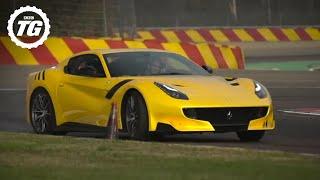 INSANE! Chris Harris Drives The Ferrari F12 TDF | Top Gear