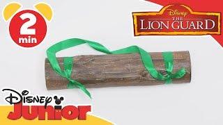 The Lion Guard | Tutorial: Log Shaker | Disney Junior UK