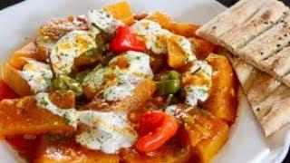 Kadoo - Pumpkin Curry with Garlic Yogurt Recipe