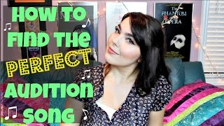 How to Find the Perfect Audition Song | Katherine Steele
