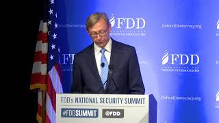 Brian Hook, Special Representative for Iran at the U.S. Department of State, at the #FDDSummit