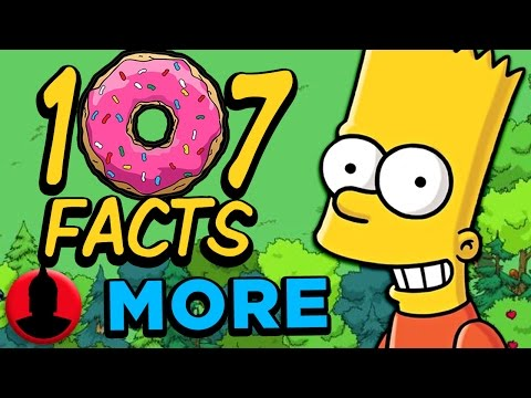 107 MORE Facts About The Simpsons!