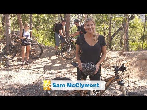 Getaway rides Hartleys Falls with Bike'n'Hike