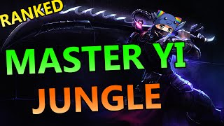 Buffed Master Yi Jungle - Full Ranked Gameplay Commentary