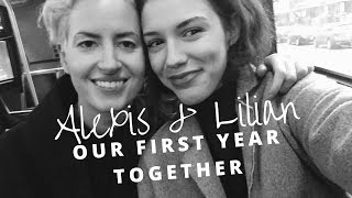 OUR FIRST YEAR TOGETHER - Cute Lesbian Couple Moments