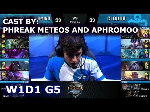 Xxx Mp4 CLG Vs Cloud 9 Cast By Phreak Meteos And Aphromoo Week 1 Day 1 Of S8 NA LCS Spring 2018 3gp Sex