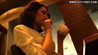 City-Feet.com - A girl in an office dress - Ksenia [3]