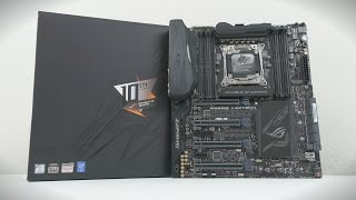 ASUS ROG Rampage V Edition 10 - Mother of all Motherboards!