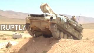 WW3 BREAKING NEWS: SYRIA - SSA RELUNCHES OFFENSIVE AGAINST MILITANTS ALONG AL-TANF BORDER TODAY-LIVE