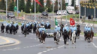 أردوغان يستقبل العاهل السعودي في القصر الرئاسي بأنقرة