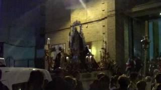 Salida Procesional de la virgen de Gloria del Rosario