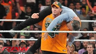 John Cena confronts Jon Stewart: Raw, Aug. 24, 2015