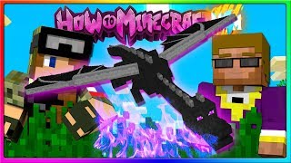 Minecraft - THE ENDER DRAGON!   Episode 102 of H4M (How to Minecraft Season 4)