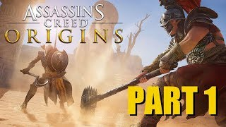 Assassin's Creed Origins - Part 1 with Mike Matei