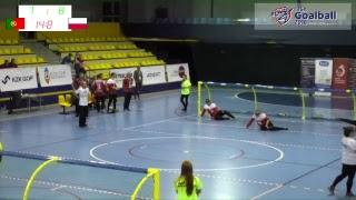 2018 IBSA Goalball European Championships B - Day 3 - Man