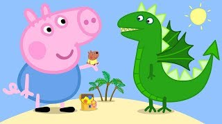 Peppa Pig Full Episodes - George and the Dragon!