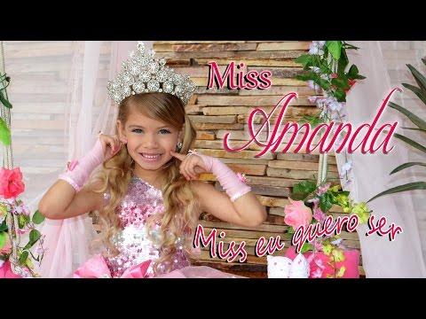 Miss Amanda Nathanry Miss eu quero ser