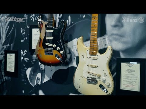Jimmie Vaughan on Strats, Stevie Ray and Clapton at NAMM 2018