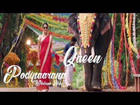 Podipaarana Whatsapp Status Video Song | Queen Malayalam Movie | Whatsapp Status