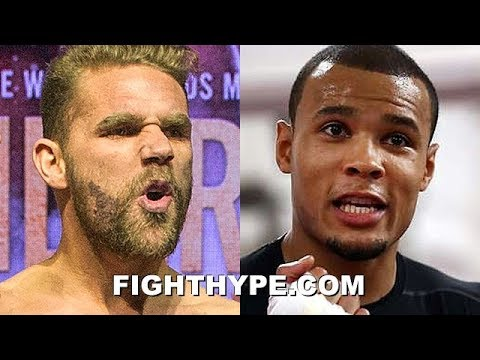 BILLY JOE SAUNDERS TRADES WORDS WITH