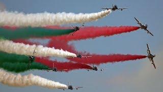 4Kᵁᴴᴰ / FRECCE TRICOLORI - SPECTACULAR DEMONSTRATION !!!