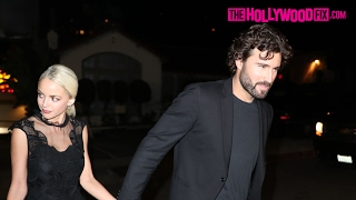 Brody Jenner & Kaitlynn Carter Arrive To The CAA Pre-Grammy Party At Hyde Nightclub 2.11.17