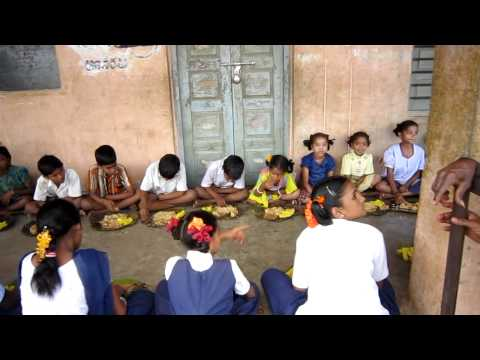 Food Relief in Potnuru village, Andhra Pradesh