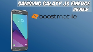 Samsung Galaxy J3 Emerge Full Review Boost Mobile (HD)