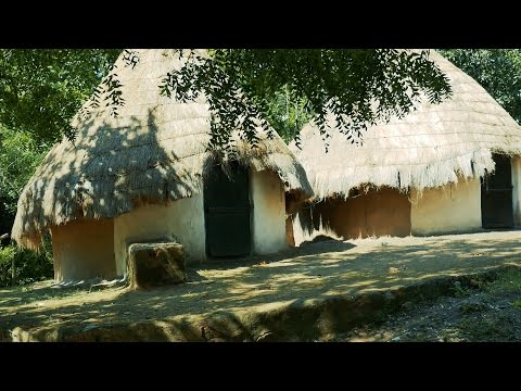 Beautiful Village Hut.Cottage.House in India.Indian huts in rajasthan.Ghar.jhopdi.गांव झोपडी.मकान
