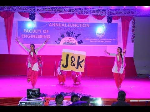 Amazing Dance Performance By Jammu Girls on Punjabi Hip Hop Mix