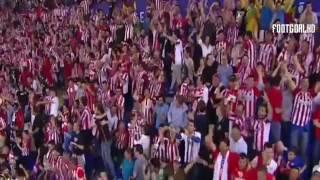 إحتفال كراسكو بهدفه ضد ريال مدريد في نهائي رابطة أبطال أوروبا