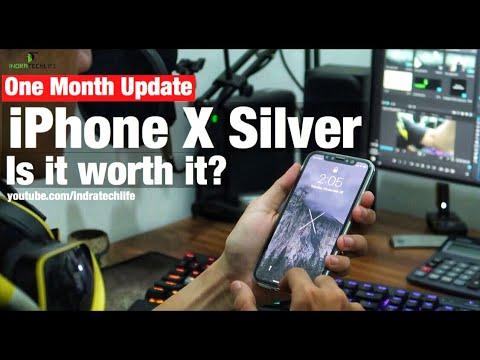 iPhone X Silver Review Setelah Satu Bulan Pemakaian Indonesia
