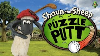 Shaun the Sheep - Puzzle Putt (iOS/Android) Gameplay HD