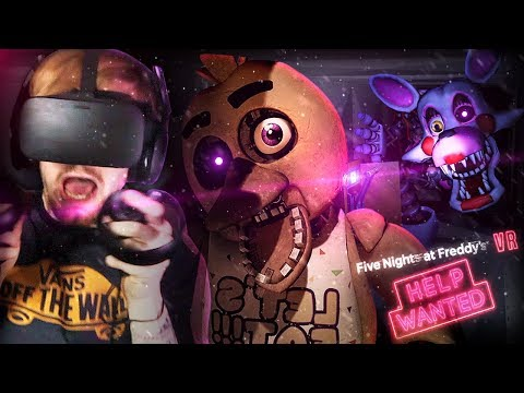 Xxx Mp4 GUYS THERE 39 S AN ANIMATRONIC IN THE VENTS WITH US FNAF VR Help Wanted Part 2 3gp Sex