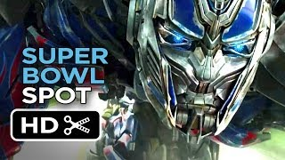 Transformers: Age of Extinction Official Super Bowl Spot (2014) - Michael Bay Movie HD