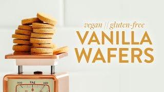Vegan GF Vanilla Wafers | Minimalist Baker