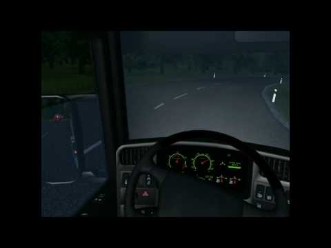 Euro Truck Simulator 2008 load to Istanbul with Scania R620 Rocco part4