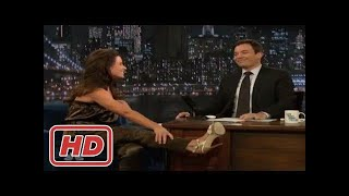 [Talk Shows]Evangeline Lilly answers all Lost Questions with Jimmy Fallon