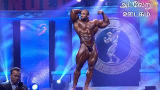 செட்ரிக் மெக்மிலன் அசத்தல் போசிங் (Arnold Classic 2018)