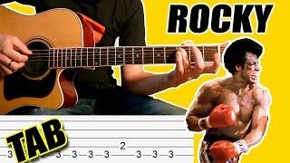 Como Tocar Rocky Balboa: Tablatura Para Guitarra Acústica - Punteo TCDG