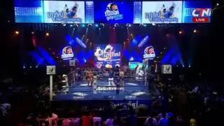 គូរម៉ារាតុងវគ្គផ្ដាច់ព្រាត់ Moeun Sokhuch vs Rong Napha (Thai) CTN Khmer Boxing 17/11/2018