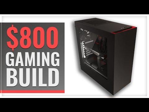 800 Gaming PC Build 1080p Ultra Machine
