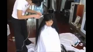 Japanese long hair cut