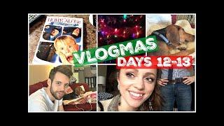 Makeup Collection - Holiday Parties, Aldi Shopping | VLOGMAS Days 12-13