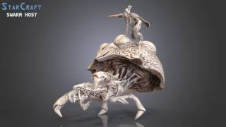 StarCraft Swarm Host 3D Model | Video by Gambody