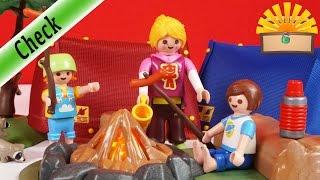Lecker WÜRSTCHEN! Zeltlager mit LED Lagerfeuer! 6888 Playmobil Film deutsch